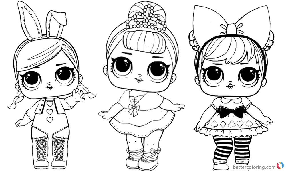 Beautiful Lol Coloring Pages 3 In 1 Color Sheet Free