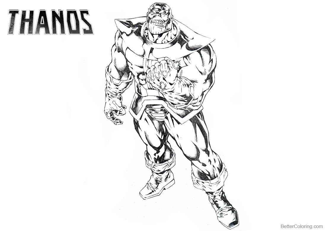 Beautiful Infinity War Coloring Pages Avengers Infi