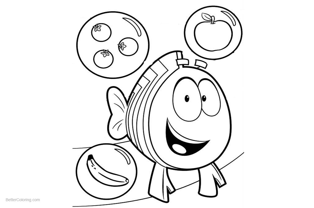Bubble Guppies Molly Coloring Pages - Eskayalitim