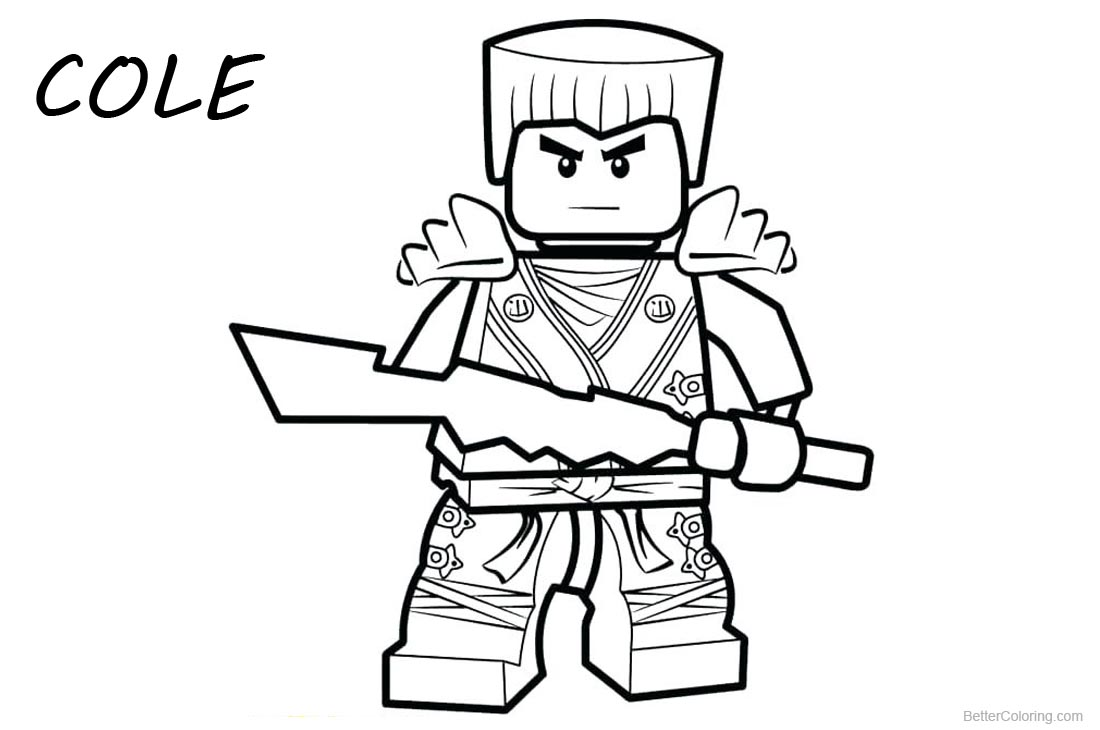 Lego ninjago color pages staruptalentcom