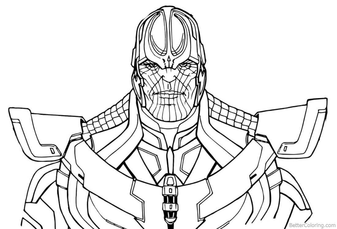 Comfortable Infinity Gauntlet Coloring Pages Best Image Of