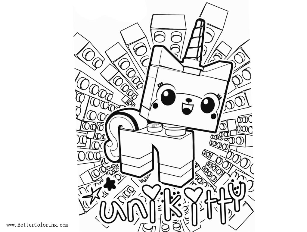Best Lego Princess Unikitty Coloring Pages Free Printable Ofertasvuelo