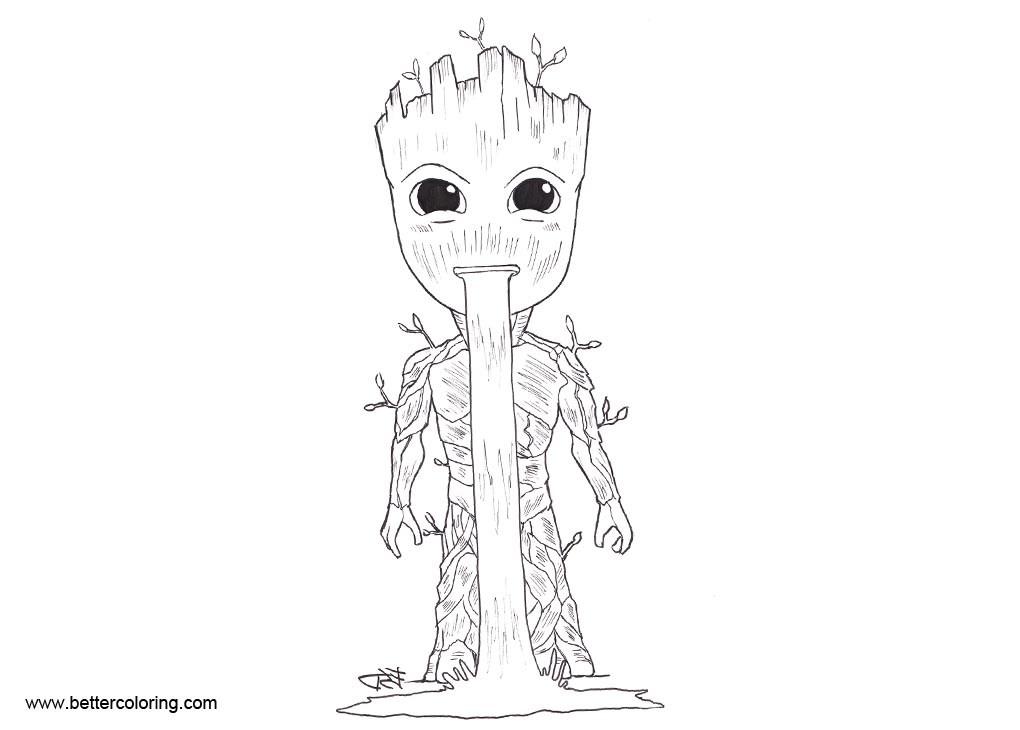 Guardians Of The Galaxy Coloring Page Arenda Stroy