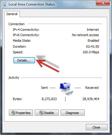 how to find out ip address on windows