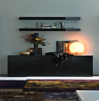 Living Room Sideboard - GLASS DINING TABLE