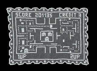 Crochet-Pacman-placemat