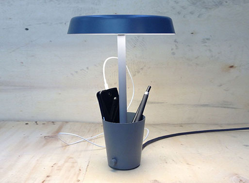 Cup Lamp by Paul Loebach and Umbra Shift