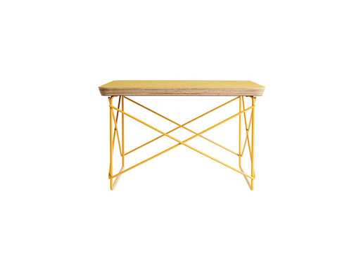 Hm select eames wire base low table furnishings better living herman miller select eames wire base low table made in usa materials stained ash veneer top seven ply baltic birch core powder coated steel wire greentooth Image collections