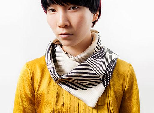 Dots Furoshiki scarf