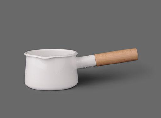 Kaico Enamel Milk Pan Accessories Better Living