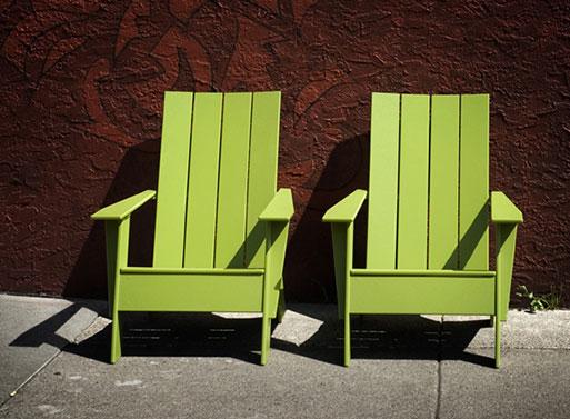 Loll 4 slat Adirondack Chair