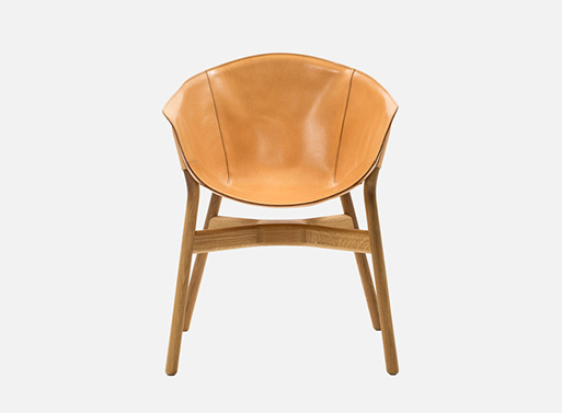 Pocket Leather Armchair