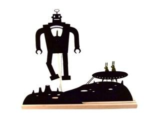 Robot-Moonscape