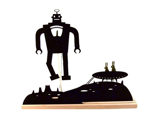 Robot Moonscape