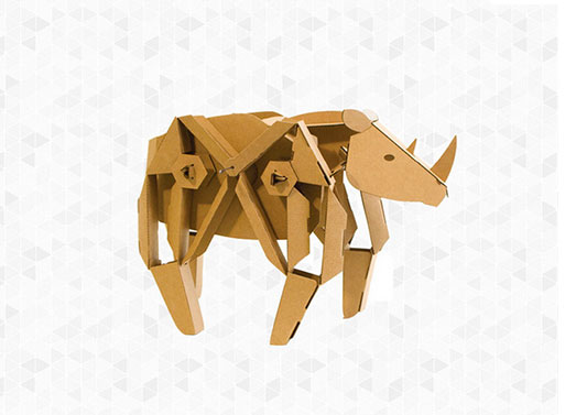 Rory the Rhino Toy Kit