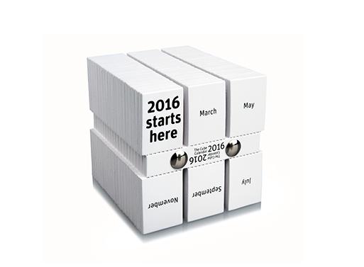 Philip Stroomberg's Cube Calendar