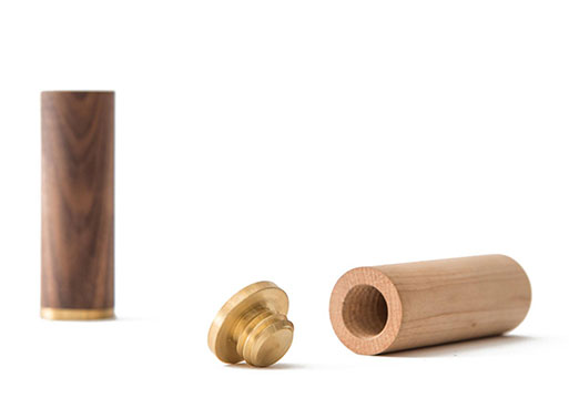 Wood Salt & Pepper Shakers