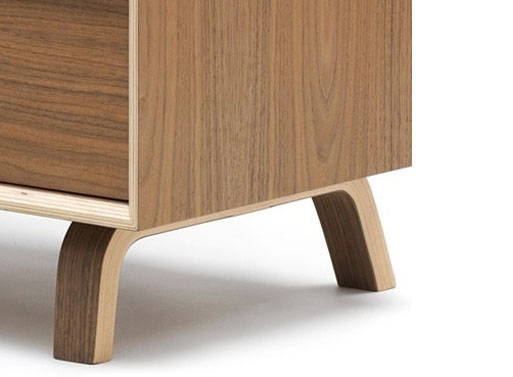 Cherner Credenza close up