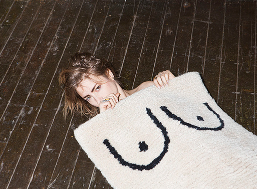 Private Parts Rug 2 by Cold Picnic