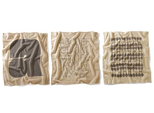 Flour Sack Towels Grey