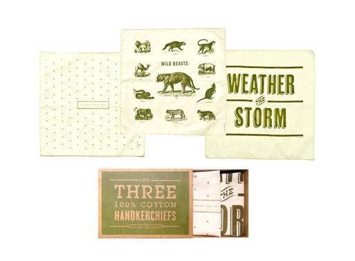 Izola Forest Handkerchief Set