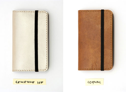 iErnest iPhone wallet ice cognac