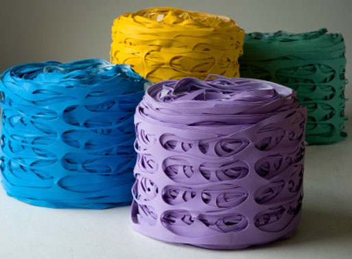 Latex Roll Pouf
