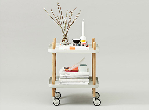 Block Table Cart