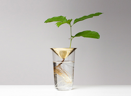 Floating Forest Cone by Michael Anastassiades