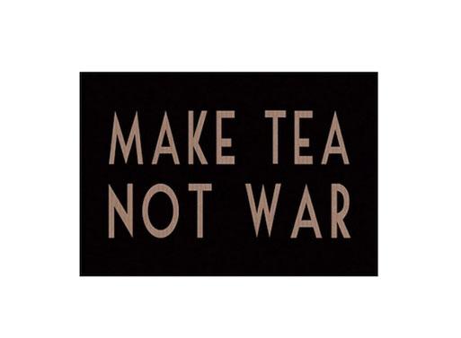 Make Tea Not War Postcard Accessories Better Living