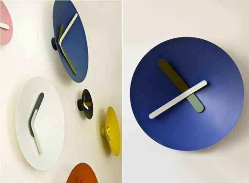 Mozia Wall Clocks side view