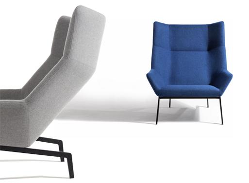 Park lounge chair ottoman furnishings better living for Park chair design
