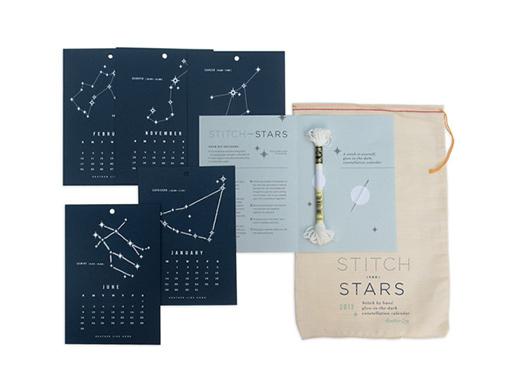 Stitch the Stars 2013 Calendar