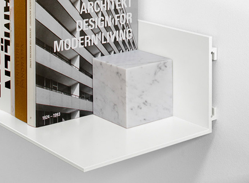 Stop Marble Bookend