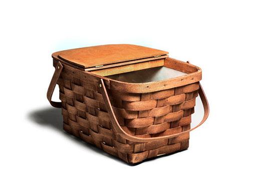 Handwoven Picnic Basket