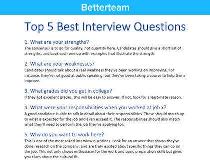 Underwriter Interview Questions