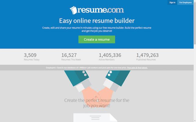 resume database free trial