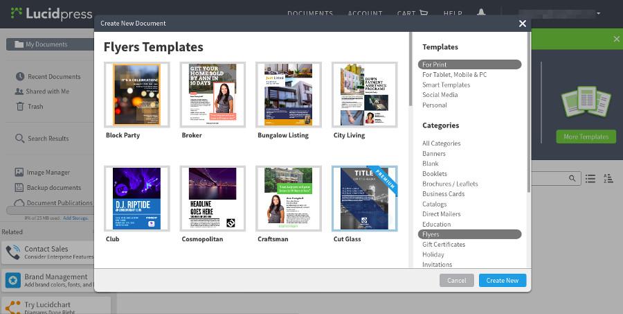 6 of The Best Free Online Flyer Makers \u2013 Better Tech Tips