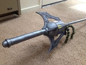 Finished sword closeup full handle