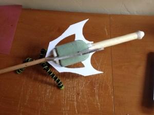 Sword Wings on handle