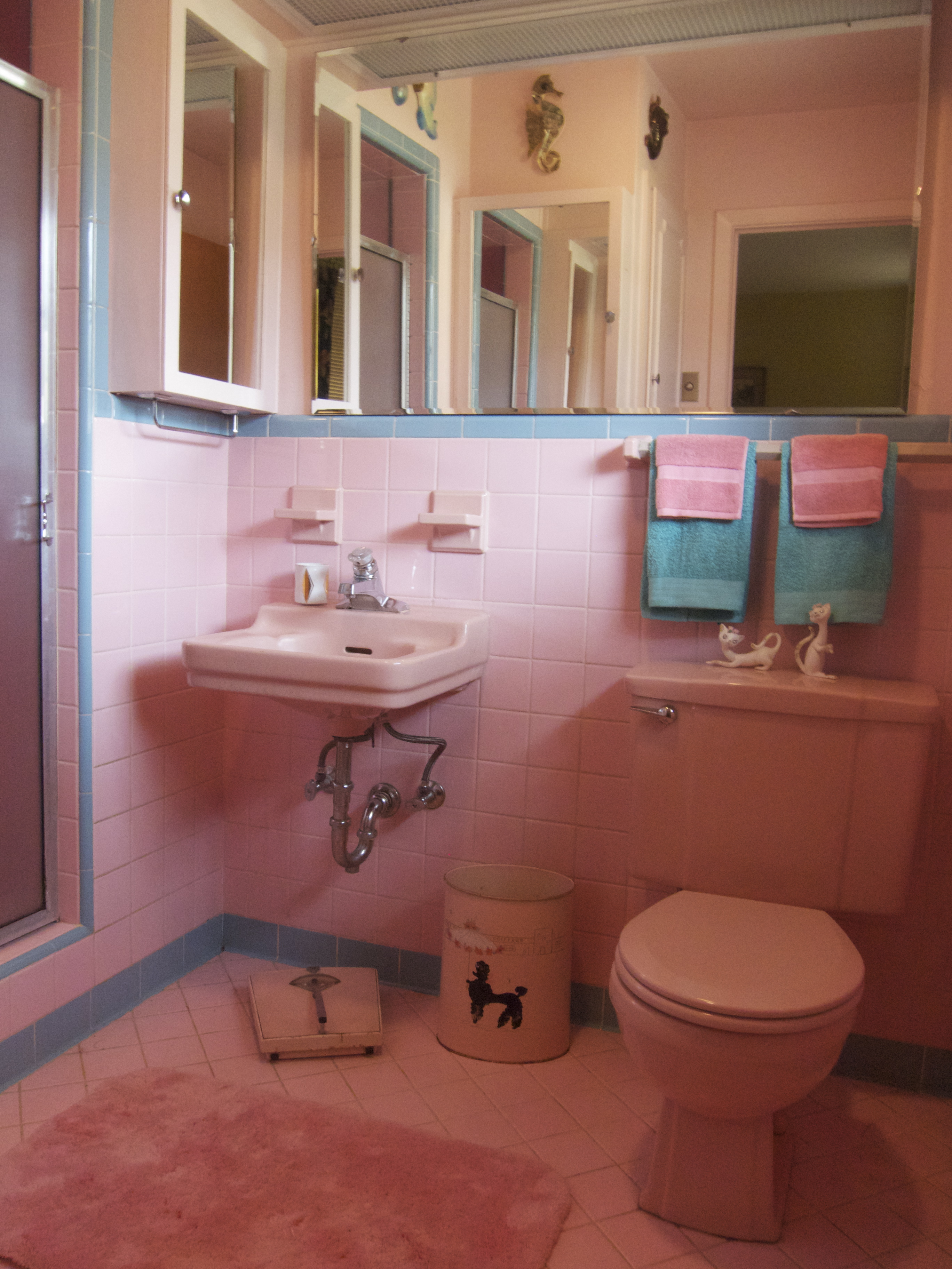 One more pink bathroom saved betty crafter