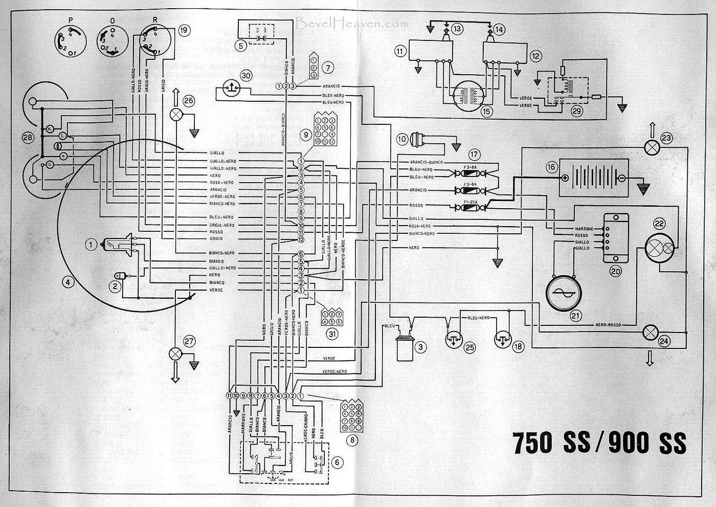 √ ducati 900 s2 wiring diagram wire schematics for ducati monster