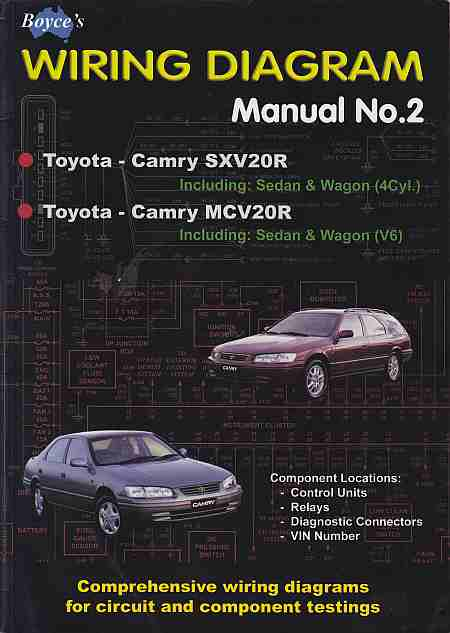 Boyce\u0027s Wiring Diagram Manual No 2 for MCV20R and SXV20R For t