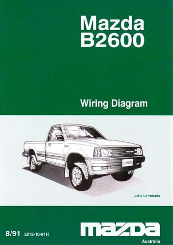 Mazda B2600 Wiring Diagram - Carbonvotemuditblog \u2022