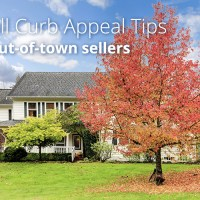 5 Easy Fall Curb Appeal Tips for Out-of-Town Sellers
