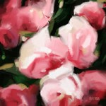 Rather Abstract Rose Paintings