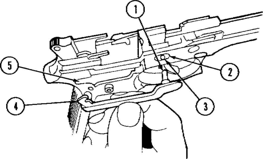 diagram of the beretta 92f beretta 92f 9mm pistol