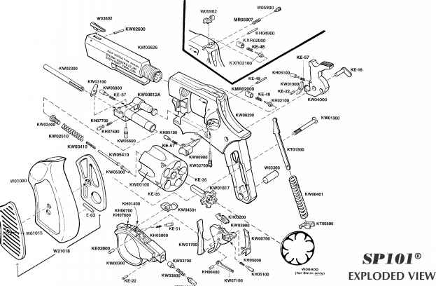 revolver trigger diagram