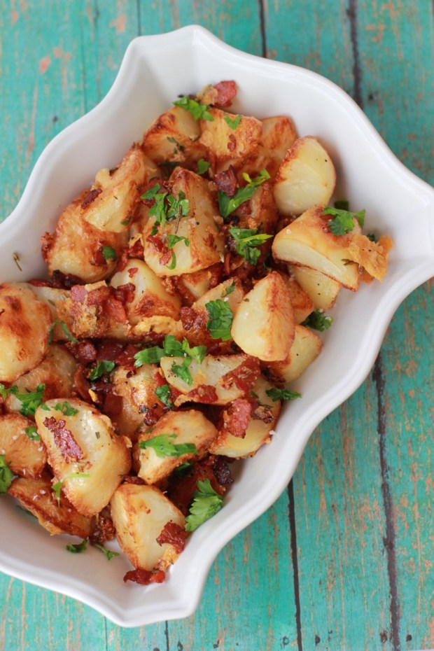 Roasted Potatoes with Hickory Smoked Bacon