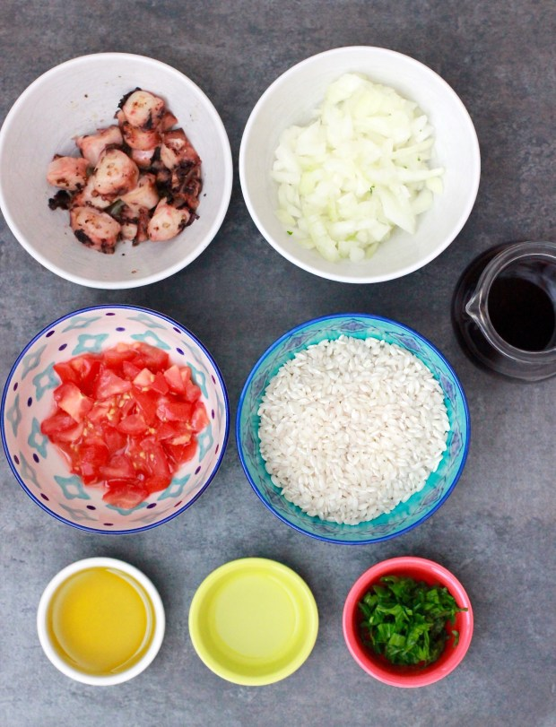 Octopus Risotto | Recipe by Be What We Love blog